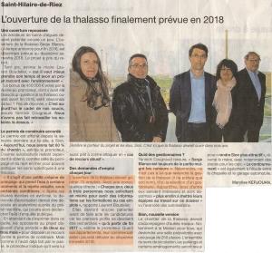 Ouest France du 24 mars 2015